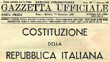 Costituzione della Repubblica Italiana