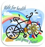 Riding for health and green planet